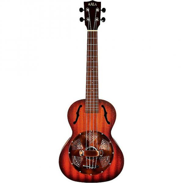 Custom Kala KA-RES-BRS Tenor Resonator Ukulele - Brass Cover #1 image