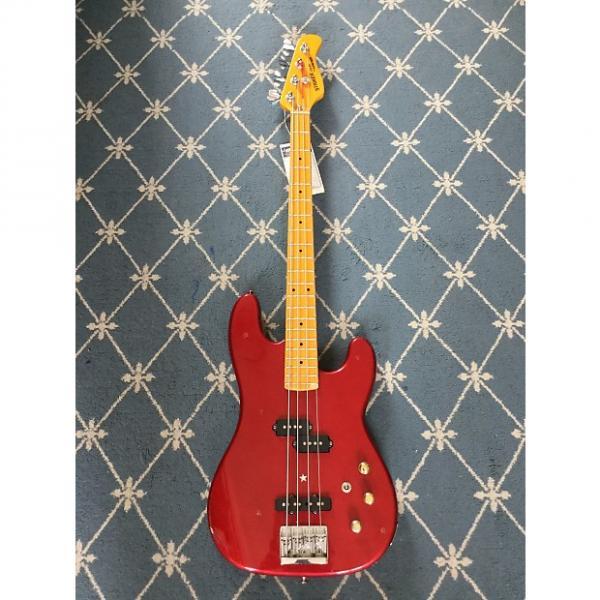 Custom Kramer Striker 700STB Bass circa 1980's Candy Apple Red #1 image