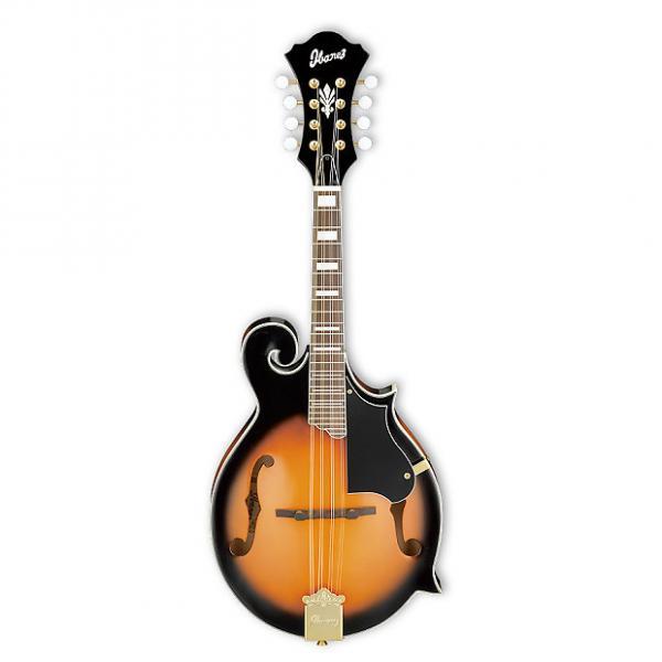 Custom Ibanez M522SBS F-Style Acoustic Mandolin Brown Sunburst #1 image