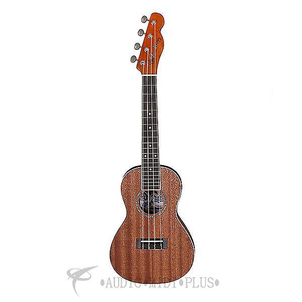 Custom Fender Ukulele Mino'Aka Concert Ukelele - Natural -  0955650021 -  885978087648 #1 image