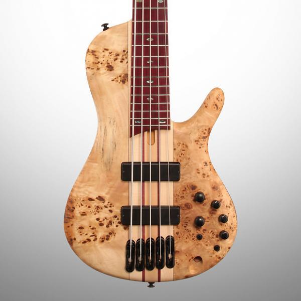 Custom Ibanez SRSC805 Electric Bass, Natural Flat #1 image
