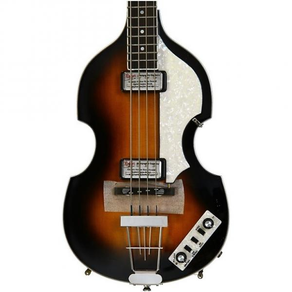 Custom Hofner Contemporary Violin Bass - Sunburst Demo #1 image