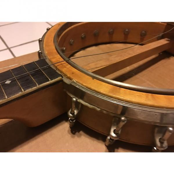 Custom Slingerland 1920's Tenor Banjo Mother Of Pearl W/Original Case #1 image