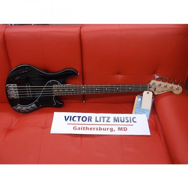 Custom Fender Deluxe Dimension Bass V Black 0142700306 Free Set of Ghs Boomers #1 image