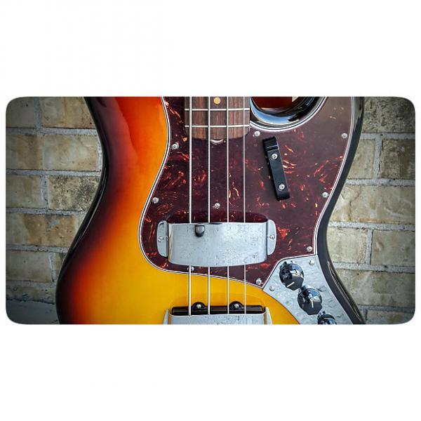 Custom Fender American Vintage '64 Jazz Bass 3 Tone Sunburst #1 image