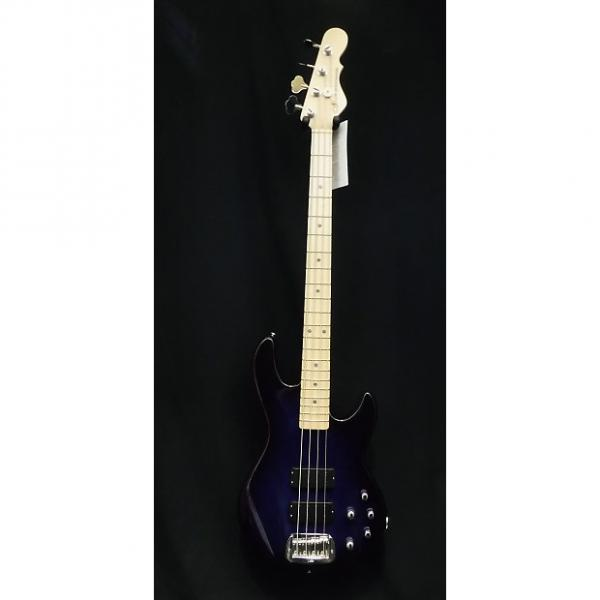 Custom G&L USA M-2000 Bass Guitar in Blueburst & Hardshell Case M2000  #1016 #1 image