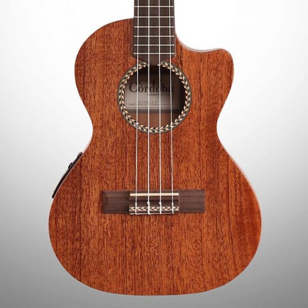 Custom Cordoba 20TMCE Tenor Acoustic Electric Ukulele #1 image