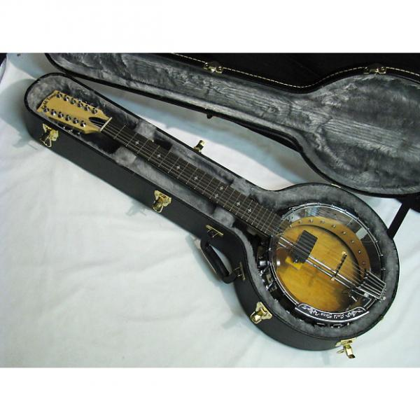 Custom GOLD TONE GT-1200 acoustic electric 12-string BANJITAR Banjo GUITAR new w/ CASE #1 image