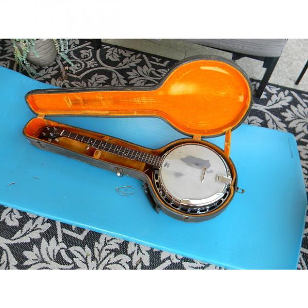 Custom 1968 Gibson RB-100 5 String Banjo With Original Case Cool Vintage Gibson Banjo #1 image
