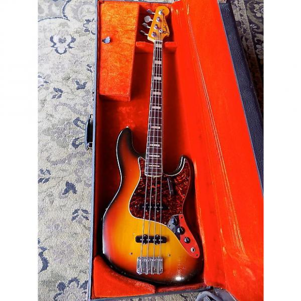 Custom Fender Jazz Bass 1972 SUNBURST #1 image