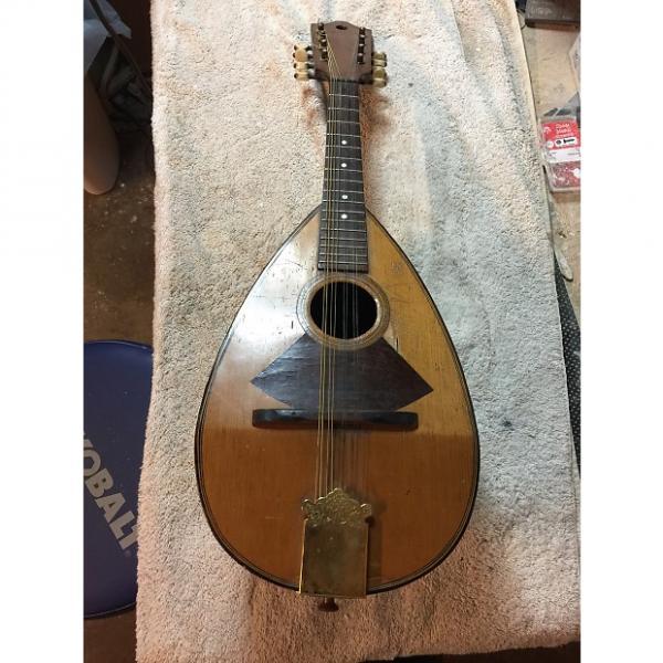 Custom Vintage Handmade Bowlback Mandolin Late 1800's #1 image