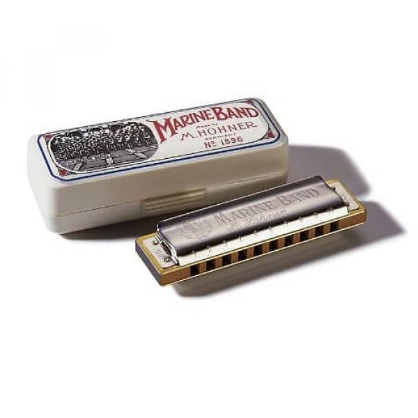 Custom Hohner Marine Band Harmonica, Key of C #1 image