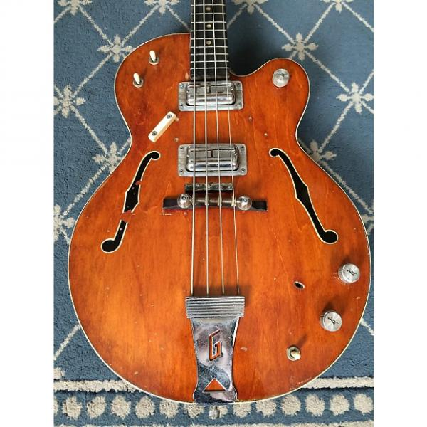 Custom Gretsch 6073 Bass 1968 Walnut #1 image
