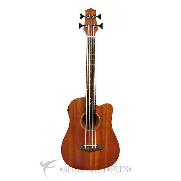 """Custom Gold Tone 23"""" Scale Fretted Acoustic-Electric MicroBass Natural  - I-MBASS-U - 00875116003227 #1 image"""