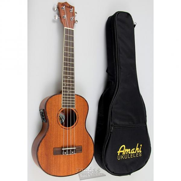 Custom Amahi UK220 Classic Series Select Mahogany Ukulele - Tenor W/ Electronics #1 image