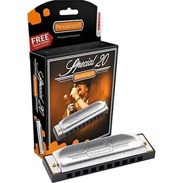 Custom Hohner Progressive Series 560 Special 20 Harmonica  C #1 image