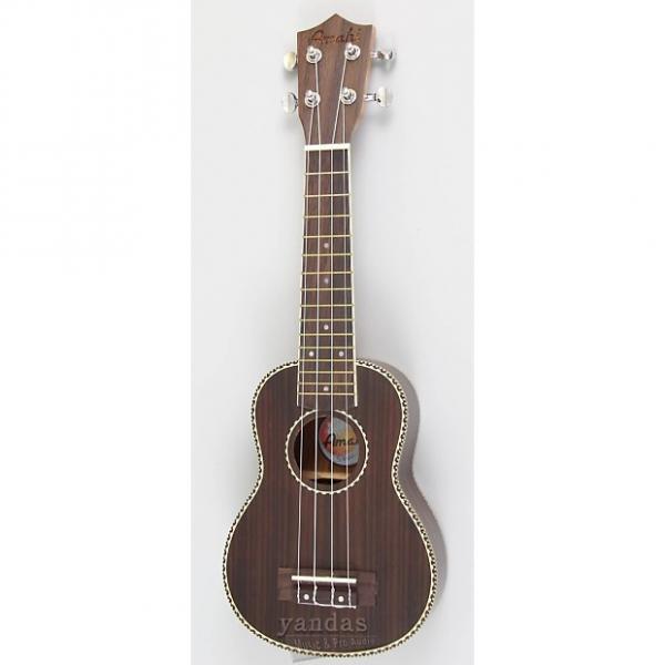 Custom Amahi UK440 Intermediate Series Rosewood Ukulele - Concert - With Electronics #1 image