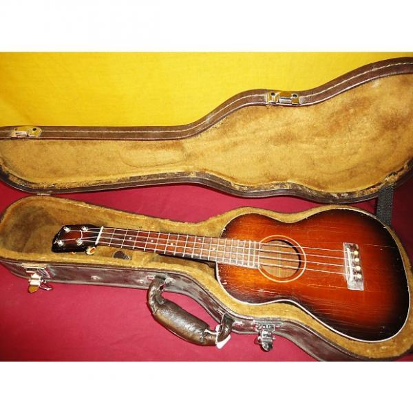 Custom Vintage 1920's - 40's Gibson DG-4146 Concert Ukulele in Hard Case Made in USA #1 image
