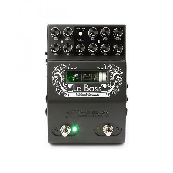 Custom Two Notes Le Bass Dual Channel Tube Bass Preamp Pedal #1 image