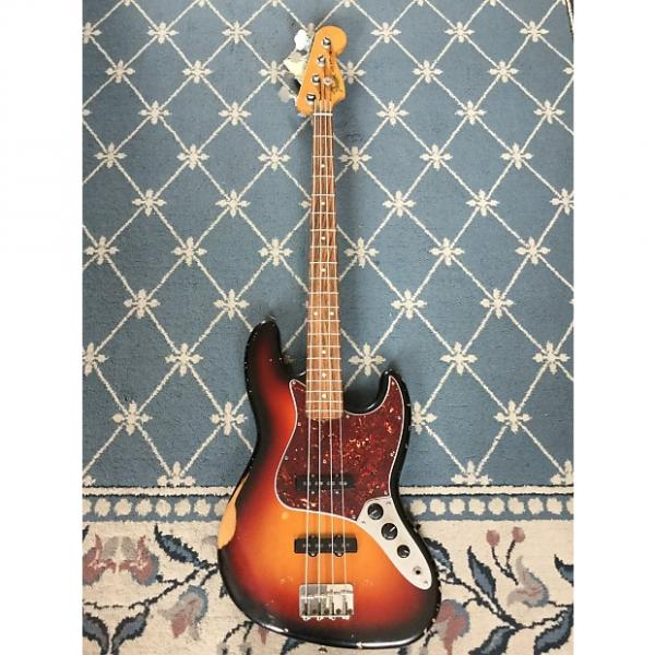 Custom Fender Roadworn Jazz Bass 2008 Sunburst #1 image