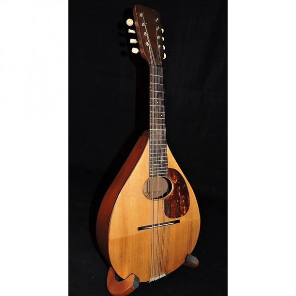 Custom Martin A Style Mandolin Natural With Case #1 image