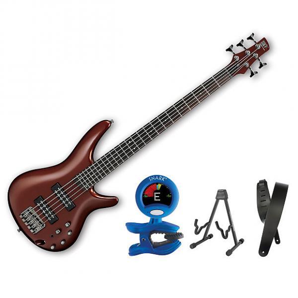 Custom Ibanez SR305E 5 String Root Beer Metallic Bonus Kit #1 image