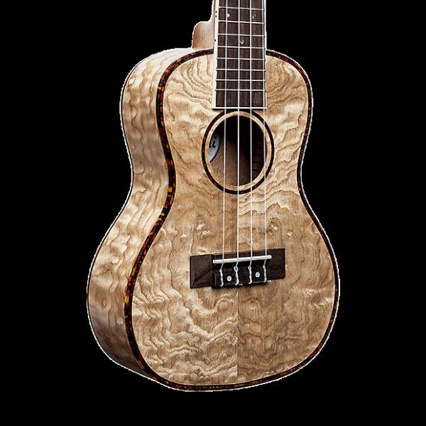 Custom Amahi UK880C Classic Quilted Ash Ukulele - Concert with Gig Bag #1 image
