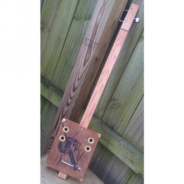Custom 3 String Cigar Box Acoustic/Electric #1 image