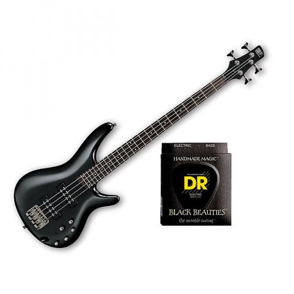 Custom Ibanez SR300E Iron Pewter w/Set DR Strings BKB45 #1 image
