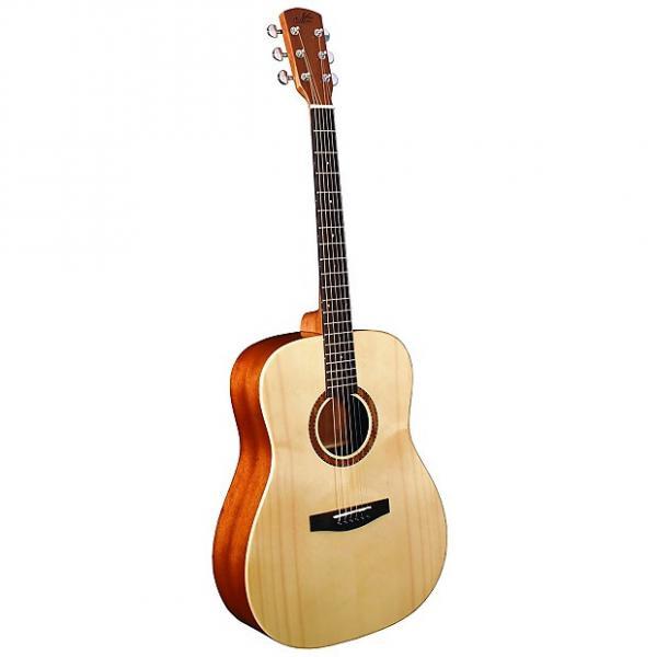 Custom Morgan Monroe M-10N Guitar, Natural #1 image