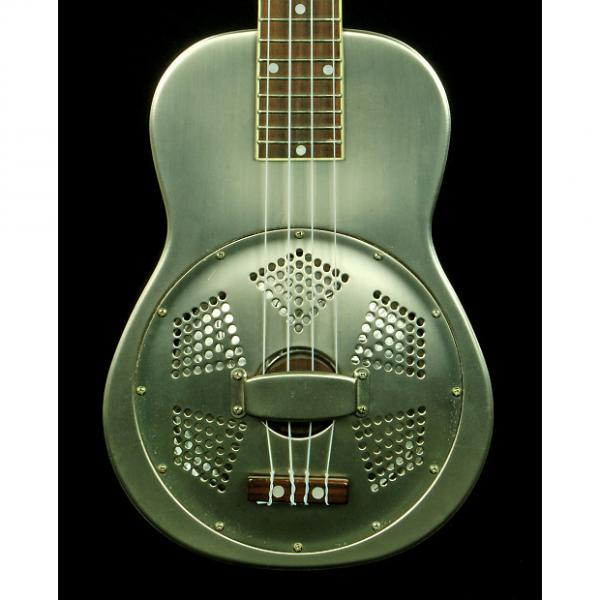 Custom Gold Tone Resouke Concert Scale Resonator Ukulele *Like New* #1 image