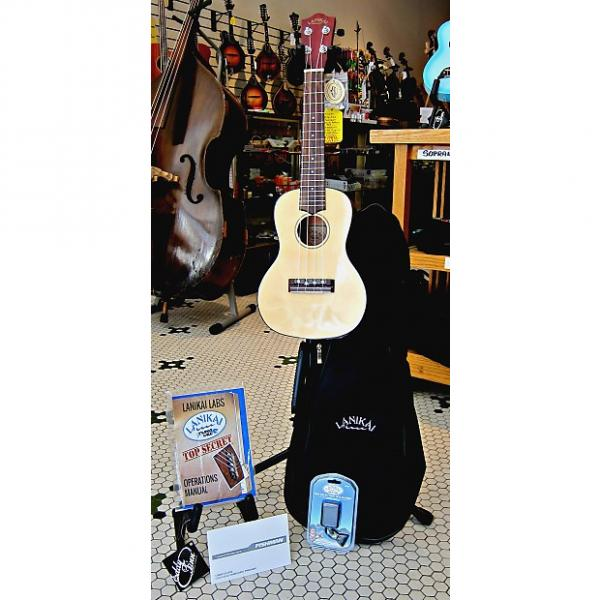 Custom Lanikai  Concert Spruce Top/Mahogany Back & Sides, Fishman Pickup Package Deal #1 image
