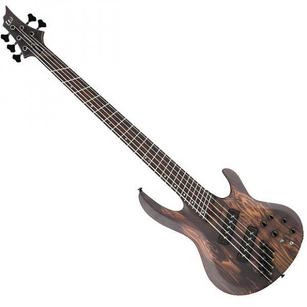 Custom ESP LTD B-1005 SE BUBINGA Natural SATIN(LB1005SEBNS)Bass Guitar #1 image