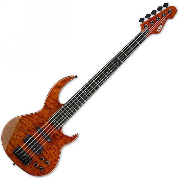 Custom ESP LBB1005QMBOR LTD BB-1005 BUNNY QM BOR Guitar #1 image
