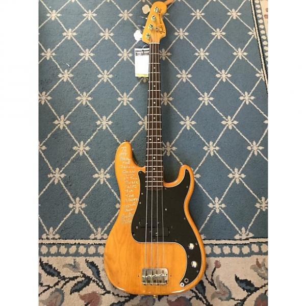 Custom Fender Precision Bass 1978 Natural (Celebrity Signed) #1 image