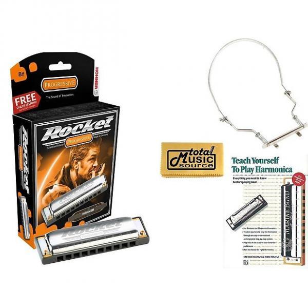 Custom Hohner Rocket Harmonica Boxed Key of BF, Case, Book, & Harmonica Holder, M2013BX-BF COMP #1 image