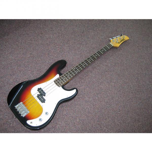 Custom Slammer Hamer  Bass guitar  1990's Tobacco Burst #1 image