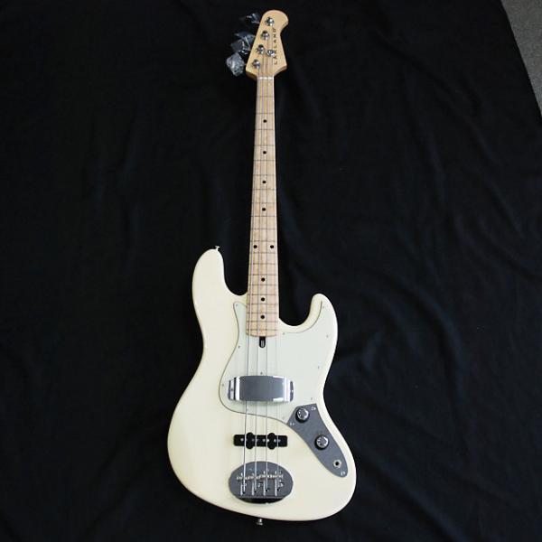 Custom Lakland  USA 44-60 Olympic White 4 String Bass Discounted #1 image