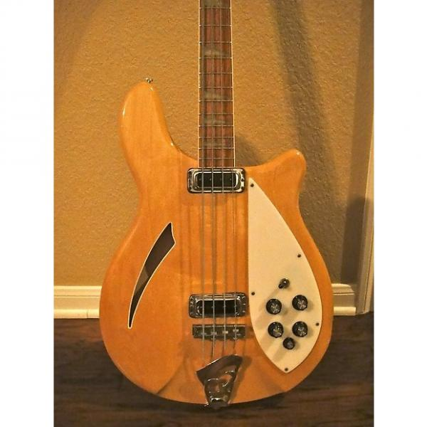 Custom 1974 Rickenbacker 4005 MapleGlo Excellent Condition Rare & Beautiful #1 image