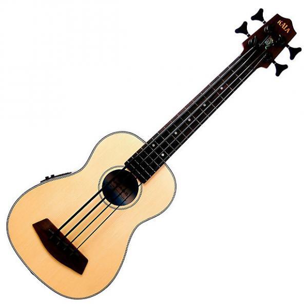 Custom Kala UBASS-SSMHG-FL U-Bass Fretless Ukulele Bass #1 image