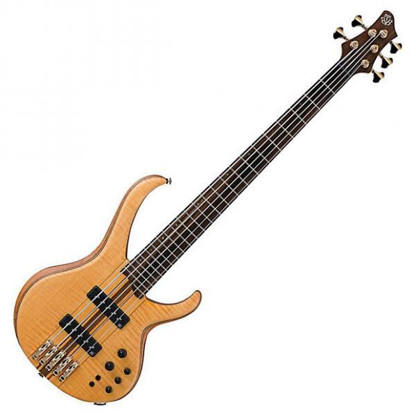Custom Ibanez BTB1405E VNF Bass Guitar with Gig Bag #1 image