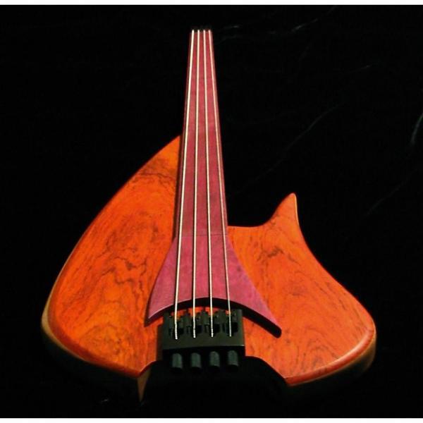 Custom Bee Bass Custom  Vulcan 2015 Padouk top, Mahogany body, #1 image