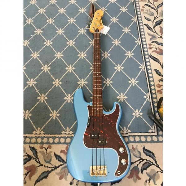 Custom Univox P-Bass 1960's Lake Placid Blue #1 image