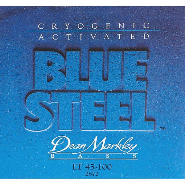 Custom Dean Markley Blue Steel Electric Bass Strings, 45-100, 2672, Light #1 image