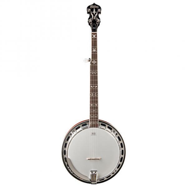 Custom Washburn B16K Tobacco Sunburst 5-String Banjo w/ Case #1 image