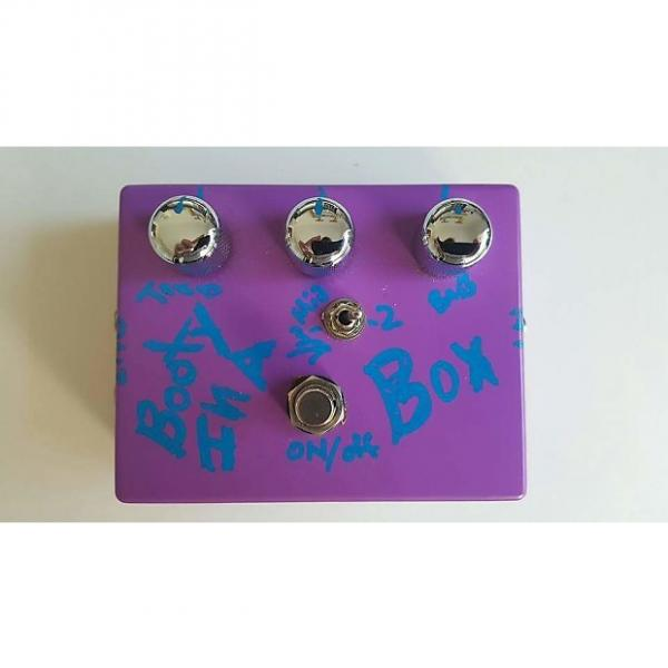 Custom LowEnd Booty in a Box Bass Preamp Pedal 2014 Purple #1 image