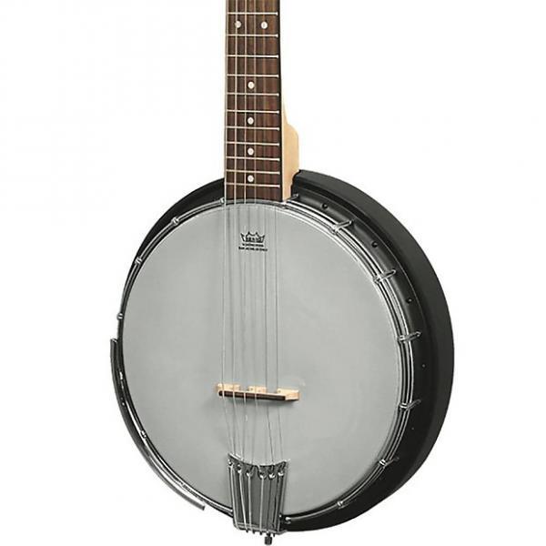Custom Gold Tone Ac6+ 6 String Banjo W/ Electronics And Bag #1 image