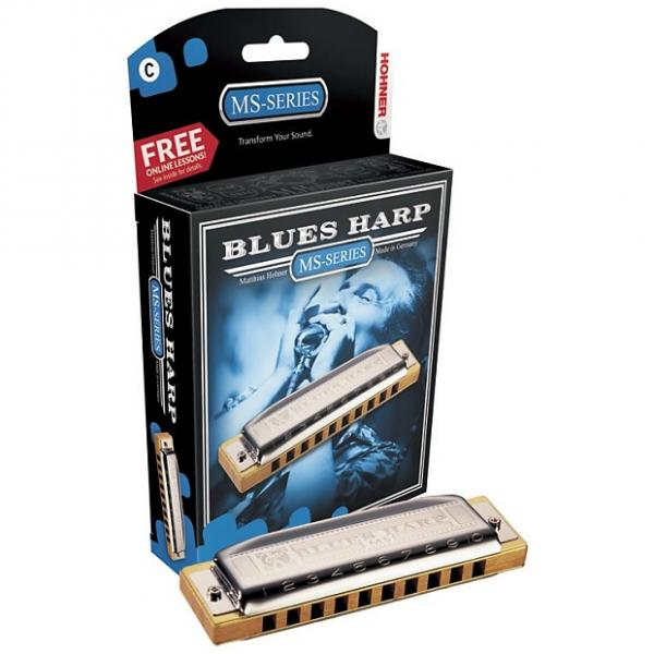 Custom Hohner 532BXBF Blues Harp Key of B Flat Harmonica #1 image
