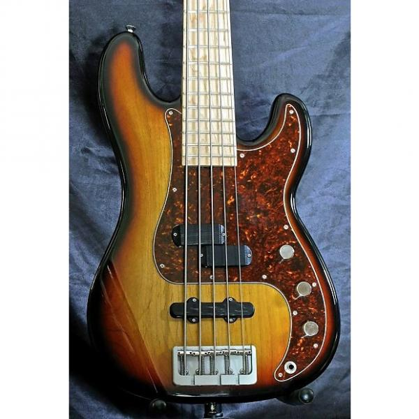 Custom Marco Bass Guitar TFL PJ 2015 3 Tone Sunburst #1 image