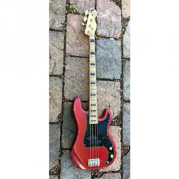 Custom Marco Bass Guitar TFL Relic 2015 Red #1 image